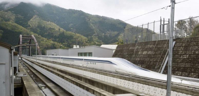 """Ce train """"maglev"""" japonais est le plus rapide du monde"""