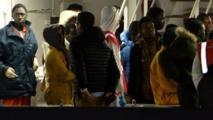 Les survivants du naufrage de dimanche sont arrivés en Sicile, le capitaine arrêté