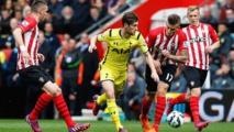 Southampton et Tottenham dos à dos