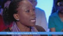 LE SCAN TÉLÉ / VIDÉO - Invitée à débattre sur l'arrivée de migrants en Europe, une écrivaine sénégalaise s'est lancée dans une longue tirade vendredi soir dans Ce soir (ou jamais !).