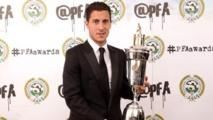 Eden Hazard élu meilleur joueur de l'année en Premier League