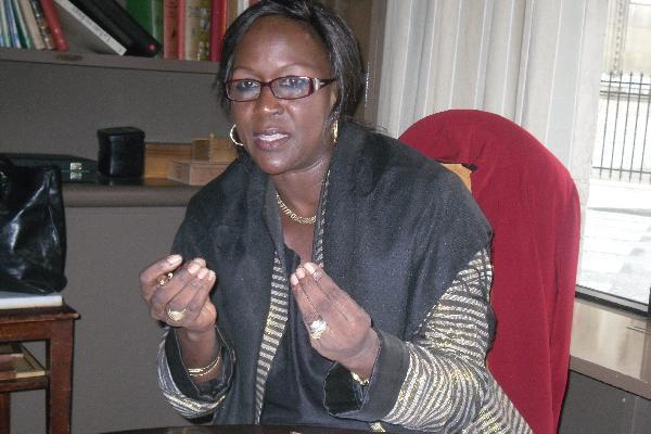 Amsatou Sow Sidibé se dresse contre l'émigration clandestine