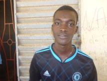 Ousmane Gueye élève en classe de 3e