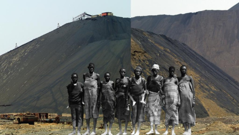 Memoire 1, photographie du Congolais Sammy Baloji, exposée à la Fondation Blachère dans le cadre de l'exposition « Visibles/Invisibles, l'Afrique urbaine et ses marges ». Sammy Baloji / Collection Blachère