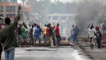 Les manifestations anti-troisième mandat se sont poursuivies mercredi 6 mai 2015 à Bujumbura. REUTERS/Jean Pierre Aime Harerimana