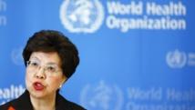Margaret Chan, directrice de l'OMS, demande à la communauté internationale de se mobiliser pour aider les pays confrontés à Ebola en Afrique de l'Ouest, le 8 août 2014. REUTERS/Pierre Albouy