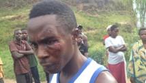 Un jeune militant FNL dit avoir été attaqué par un groupe d'Imbonerakure. «C'est parce que nous sommes contre le troisième mandat.» RFI / SR