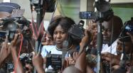 Burkina: la veuve de Thomas Sankara entendue par la justice