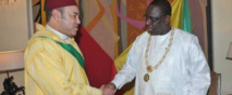 Le roi du Maroc, Mohamed VI à Dakar aujourd'hui