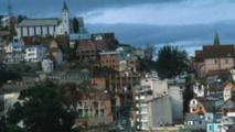 Le centre de Tananarive, la capitale malgache.