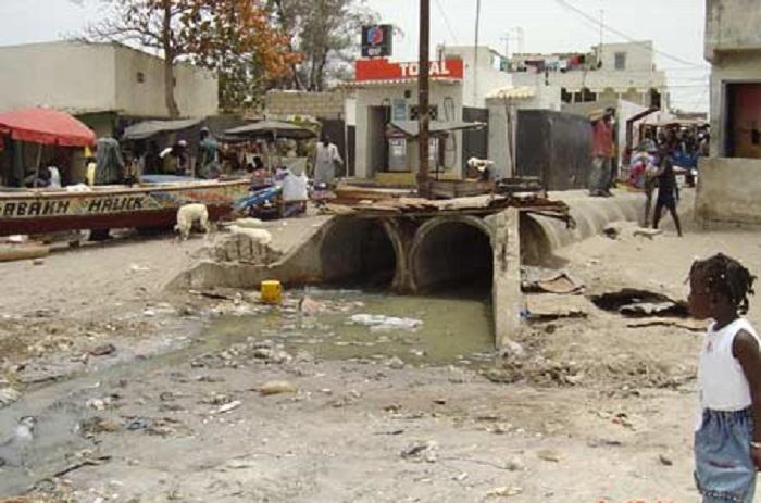 Seul 34,2% des ménages de Dakar, ont accès au service d'assainissement