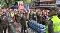Obsèques collectives hier en Colombie après l'éboulement qui a fait plus de 80 morts