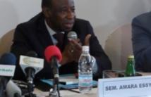 Présidentielle 2015: L'ex-diplomate Essy Amara souhaite un candidat unique d'une coalition de l'opposition contre Ouattara