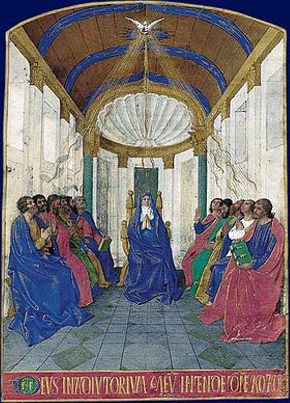 Lundi de Pentecôte : la venue du Saint-Esprit