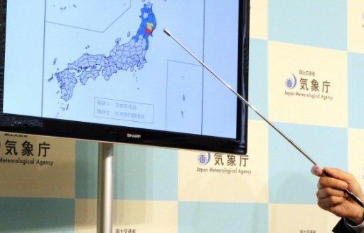 Japon: un fort séisme secoue Tokyo