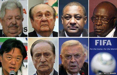 Scandale de corruption à la FIFA : les noms des 7 officiels inculpés connus