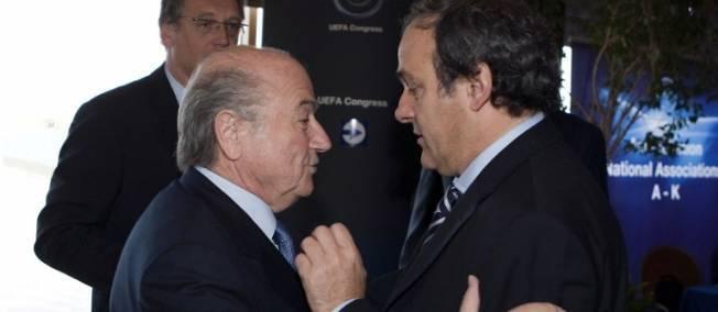 Michel Platini : « J'ai demandé à Blatter de démissionner »