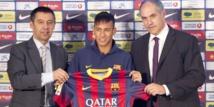 Santos poursuit le Barça et Neymar
