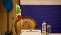 La chaise du président Nkurunziza est restée vide ce dimanche 31 mai à Dar es Salaam, comme le 13 mai lors d'un précédent sommet dans la capitale tanzanienne. AFP / DANIEL HAYDUK