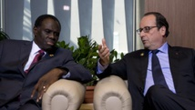 Visite du président de transition burkinabè Michel Kafando en France