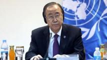 Bank-Ki Moon, le Secrétaire général de l'ONU
