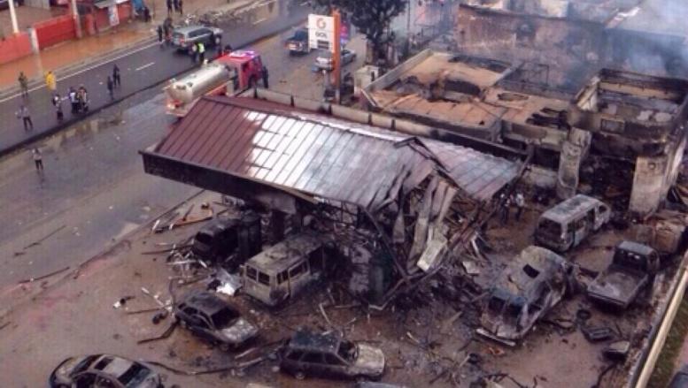 Ghana: plus de 150 morts après un violent incendie à Accra