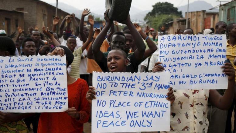 Burundi: la mobilisation faiblit à Bujumbura
