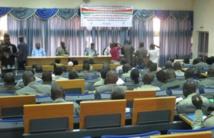 Formation de policiers municipaux à Ouag