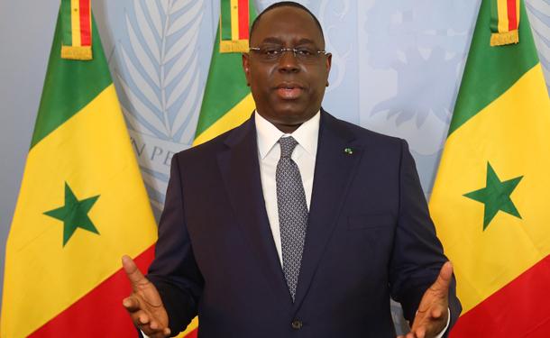 """Le président Macky Sall adresse ses félicitations aux """"Lionceaux"""""""