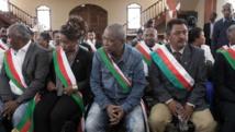 Les députés malgaches à la Haute Cour constitutionnelle le 27 mai 2015. AFP PHOTO/RIJASOLO