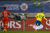 Copa America: Brésil  2-1 Pérou