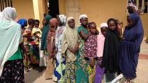 D'anciens captifs de Boko Haram libérés au mois de mai de la forêt de Sambisa.