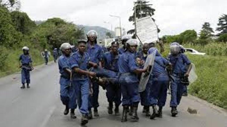 Burundi: 11 policiers blessés à Bujumbura