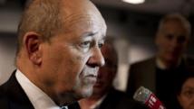 Jean-Yves Le Drian, ministre français de la Défense. Reuters