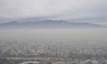 Santiago du Chili: état d'urgence environnementale pour pollution atmosphérique