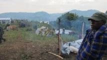 Le camp de cantonnement de Bweramana, dans le Nord-Kivu. RFI/LL.Westerhoff