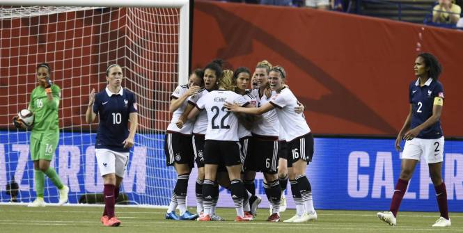 Football féminin: La France battue par l'Allemagne (1-1 4-5 t.a.b.), s'arrête en quart de finale du Mondial