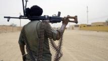 Militaire malien en patrouille. AFP PHOTO / KAMBOU SIA