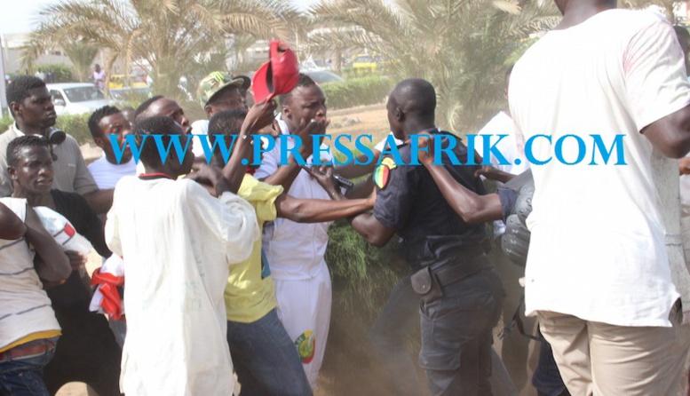 URGENT Affrontement - saison TNT: Ama Baldé arrêté après avoir bastonné un policier (PHOTOS)