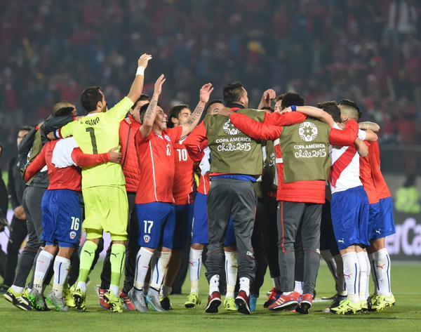 """Le Chili en finale de """"sa"""" Copa America"""