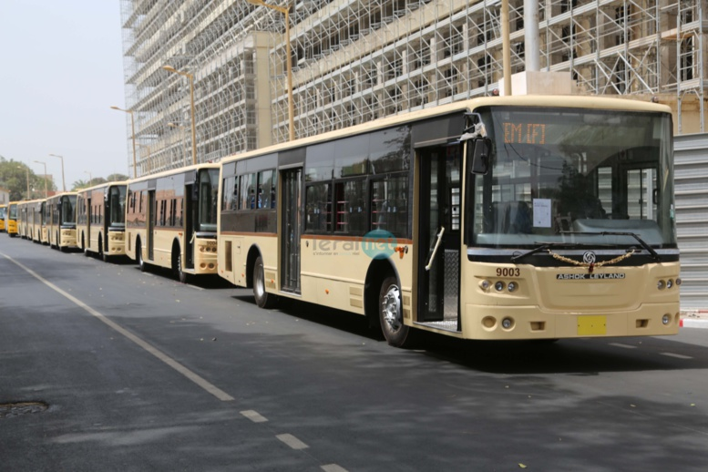 Transport interurbain : Dakar Dem Dikk commande 475 bus