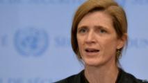 """La représentante américaine, Samantha Power, a rappelé que """"ceux qui commettent des atrocités et font obstacles à la paix devront en subir les conséquences"""""""