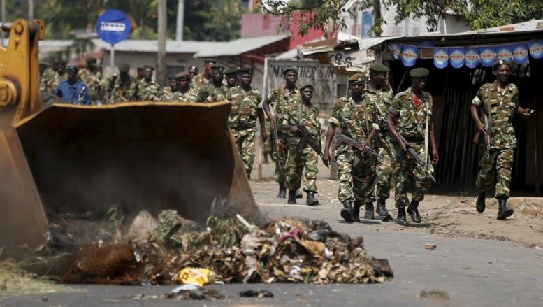 Burundi: l'armée appelle au calme après le discours des putschistes