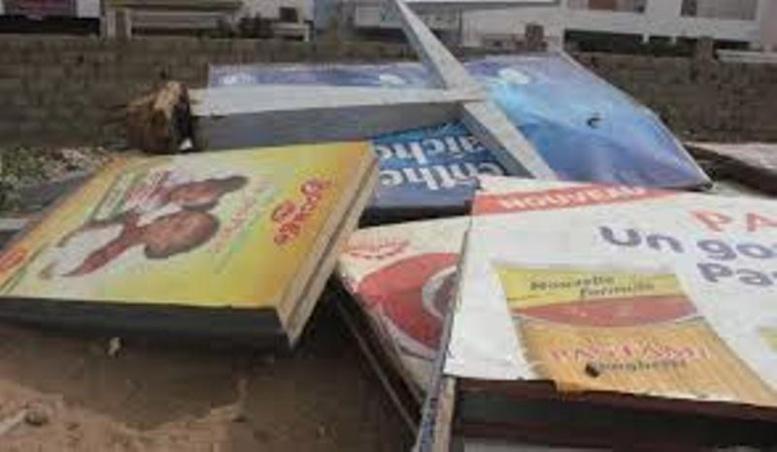 Bras de fer entre maires et publicitaires: le Gouverneur de Dakar tranche