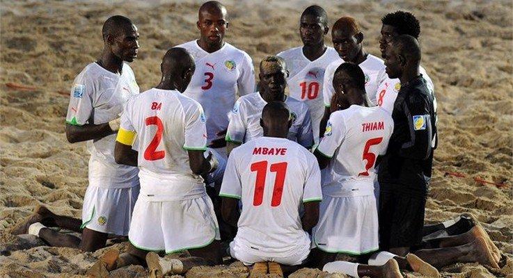 """Mondial Beach soccer: les """"Lions"""" défient l'Argentine"""