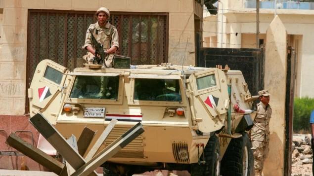 15 policiers blessés dans l'explosion d'une bombe en Egypte