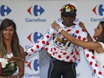 Tour de France: pour la première fois, le Maillot à pois est africain