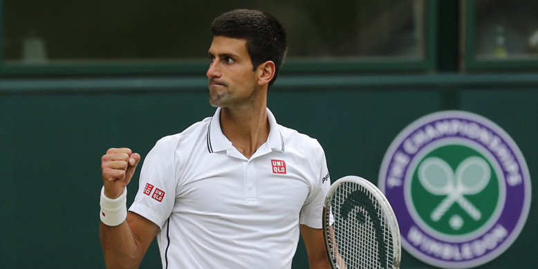 Wimbledon : Novak Djokovic domine Richard Gasquet en demi-finales