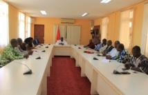 Installation des Mbres de la commission d'enquête parlementaire