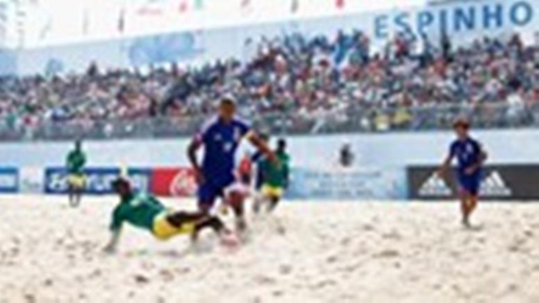 """Mondial Beach soccer: Battus par le Japon, les """"Lions"""" ratent les 1/4"""